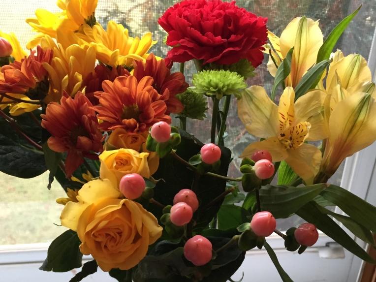 fresh cut flowers for December