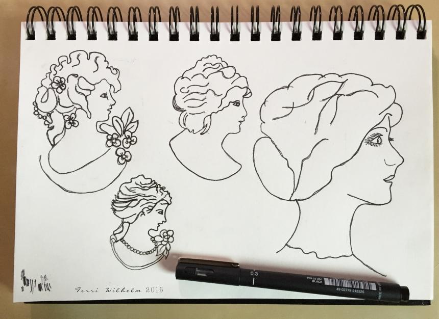 sketchbook cameos