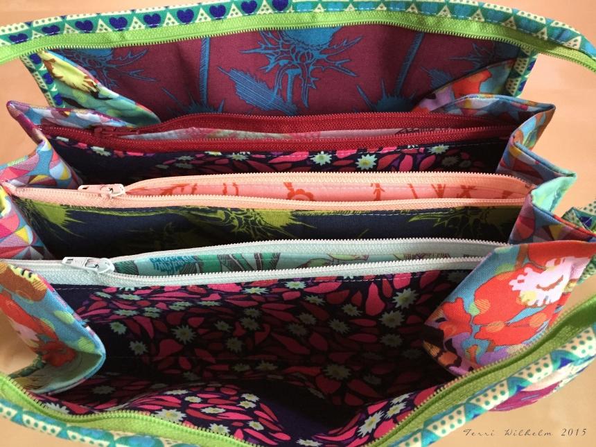 MKs bag inside