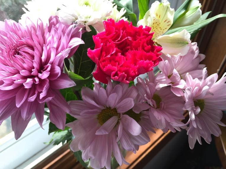 fresh cut flowers for March