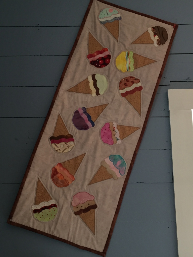 ice cream quilt