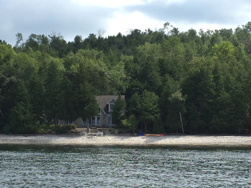 house from the water