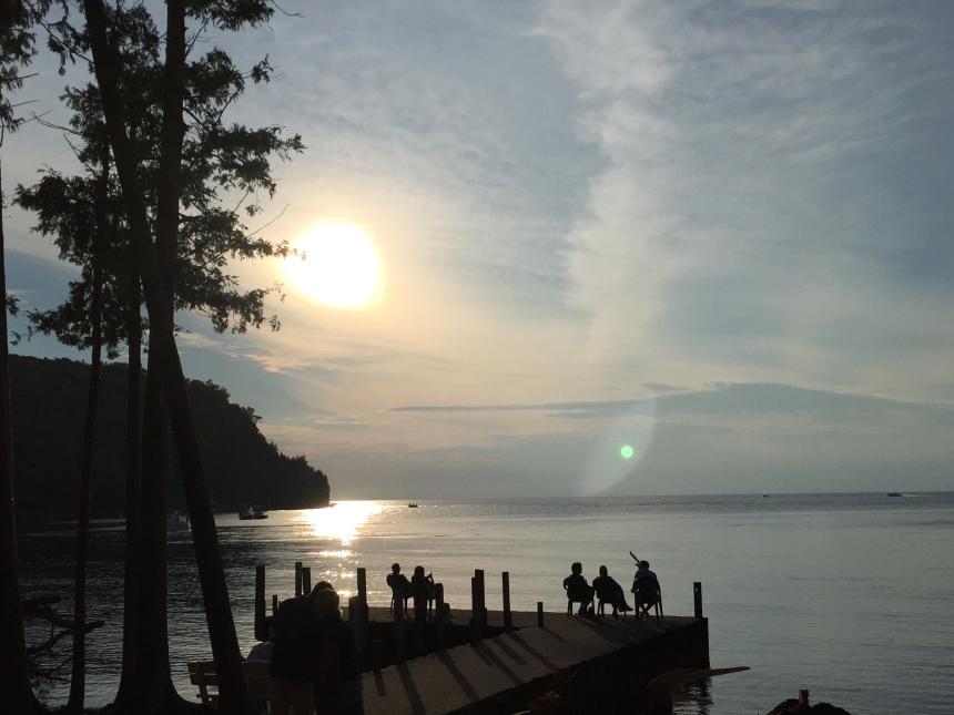 little sister bay sunset