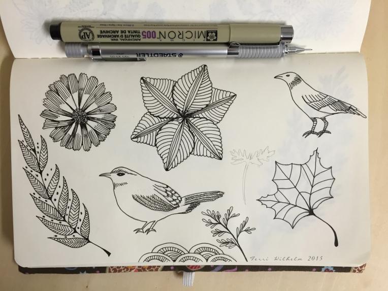 sketchbook daily doodles