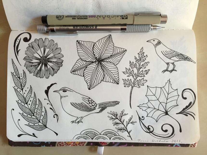 sketchbook pag random doodles