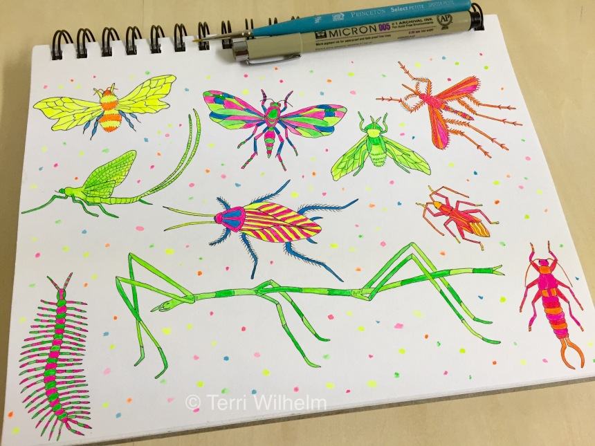 week 21 neon insects