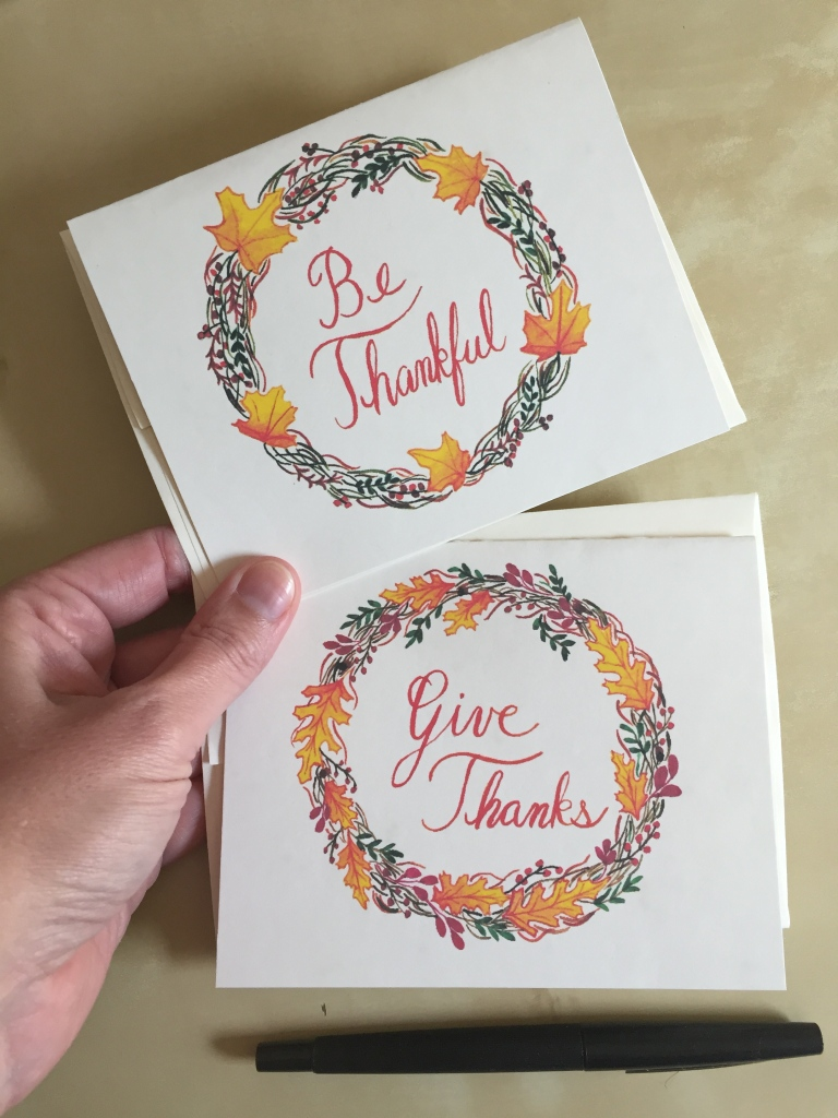 Thanksgiving notecards