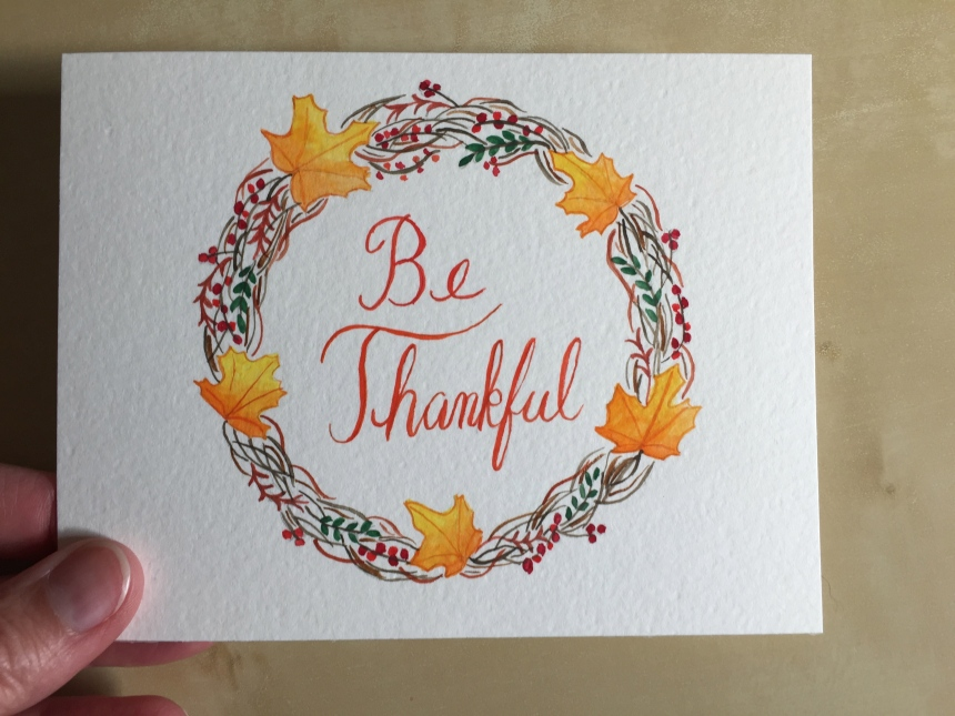 Be Thankful painting